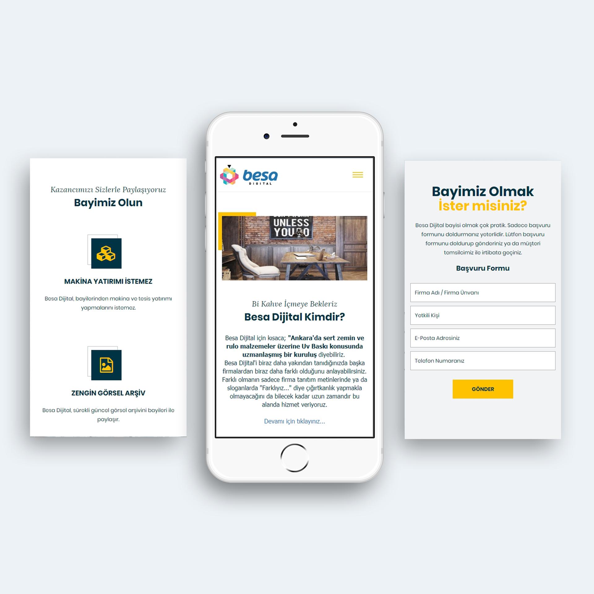 Mobil Uyumlu Responsive Web Tasarım