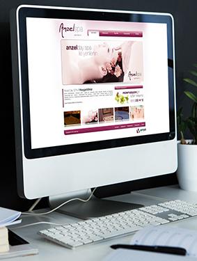 Anzel Spa Web Sitesi