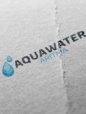 Aquawater Arıtma Logo Çalışması