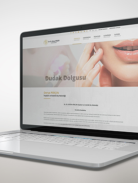 Derya Perçin Web Sayfası Tasarım ve Yazılımı