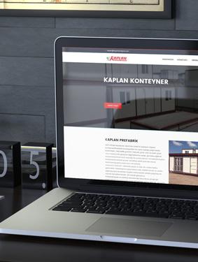 Kaplan Prefabrik Web Tasarımı
