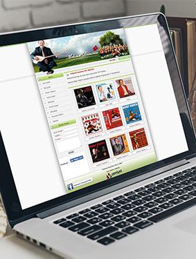 Mehmet Demirtaş Web Sitesi Tasarımı
