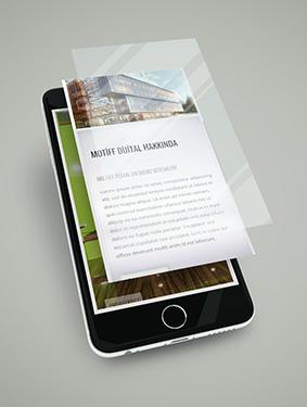Motiff Dijital Responsive Web Sayfası