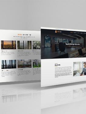 Ossa Cam Web Sayfası Tasarım ve Yazılımı
