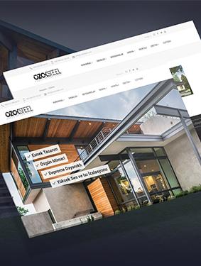 Ozok Steel Web Tasarım, Yazılım ve Seo Çalışması
