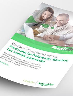 Schneider Electric Broşür Çalışması