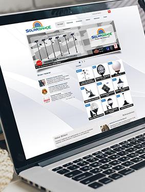 Solar Bahçe Web Sayfası Tasarım & Web Yazılım