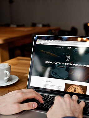 Thila Coffee Web Tasarım ve Programlama