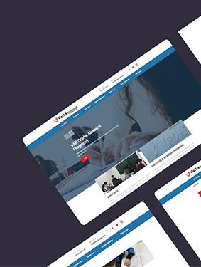 Varlık Temel Lisesi Web Tasarım Çalışması
