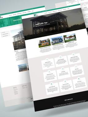Villa Çelik Yapı Web Sayfası