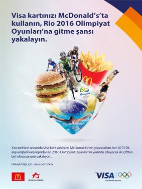 VISA McDonalds Poster Çalışması